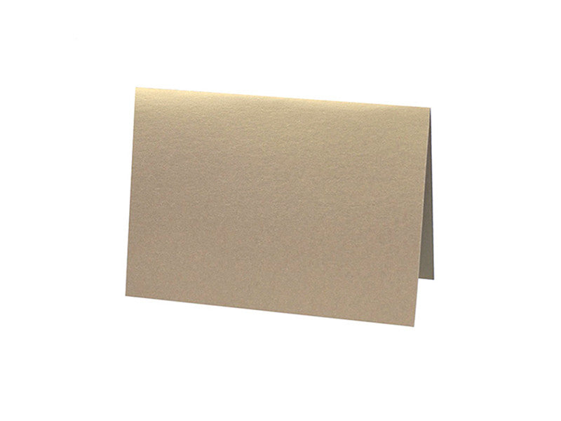 4-BAR METALLIC FOLDED CARD