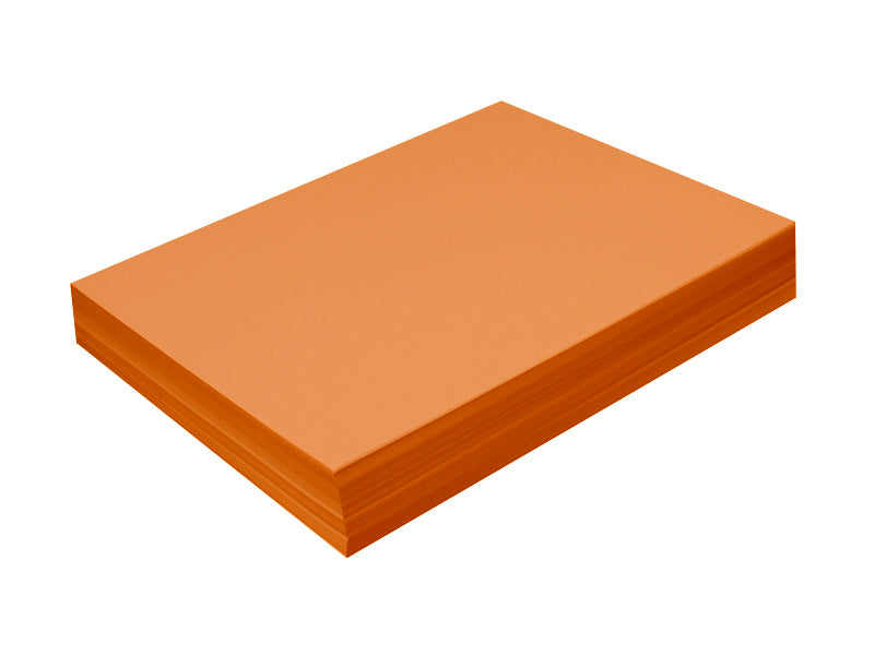 "100 Pack - A7 Panel Card (5""x7""): Metallic Citrus Orange (Flame)"