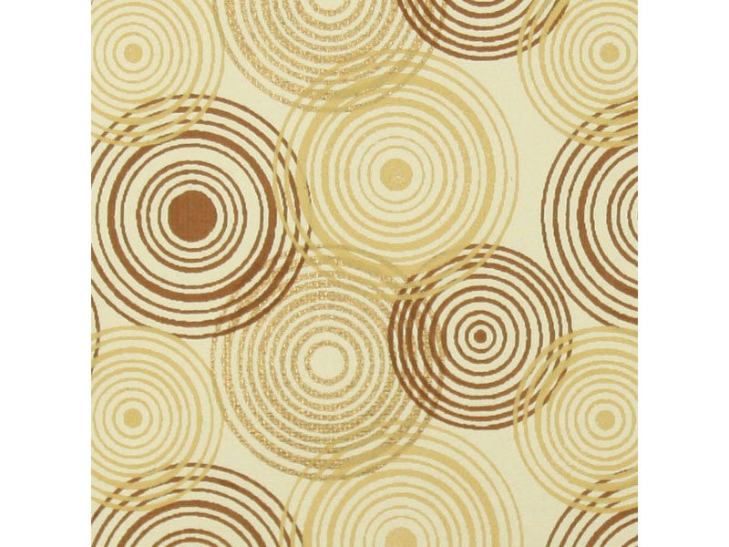 Circle Hoopla - Ivory/Gold