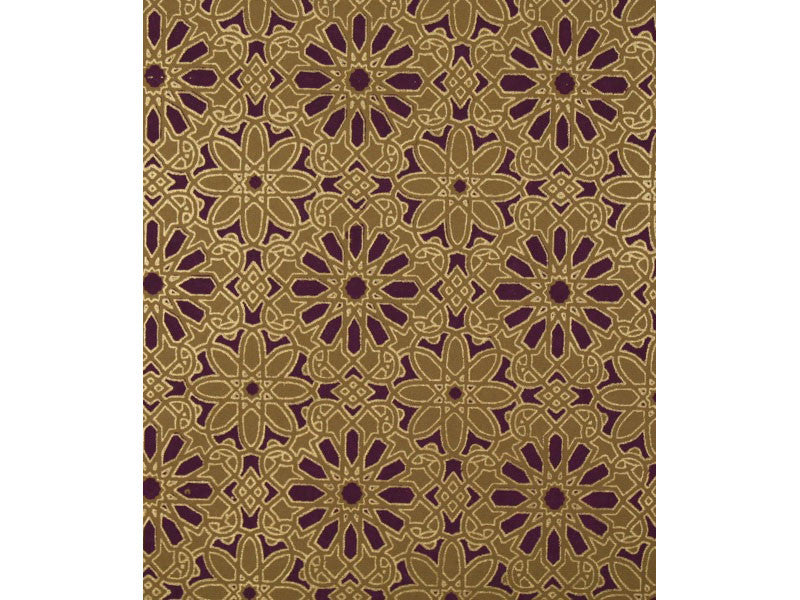 Arabesque - Aubergine/Gold