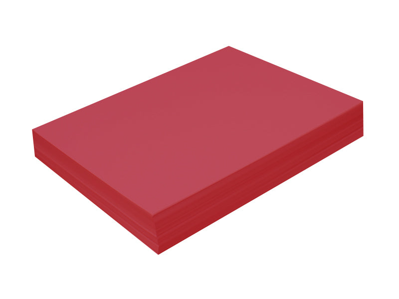 "100 Pack - A7 Panel Card (5""x7""): Metallic Classic Red (Jupiter)"