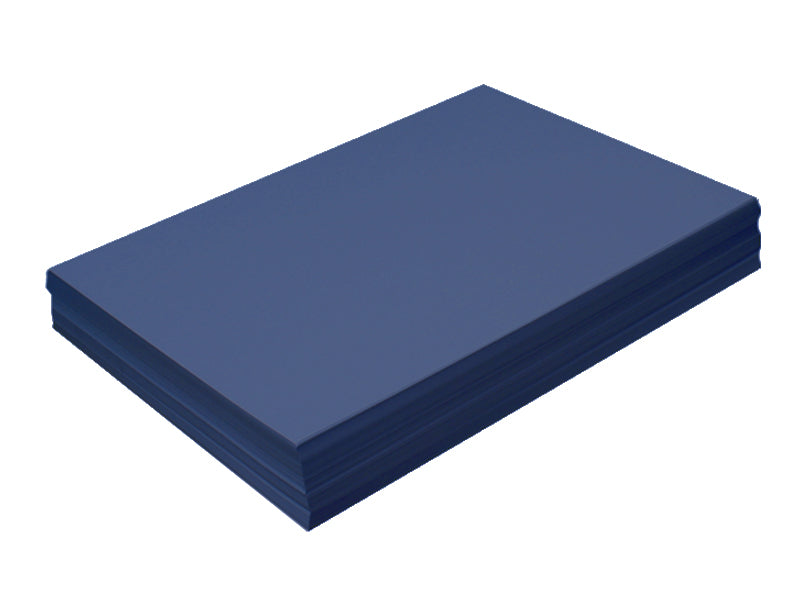 "85 pack - 6.125"" x 11"" Metallic Cardstock 105lb : Metallic Lapis"
