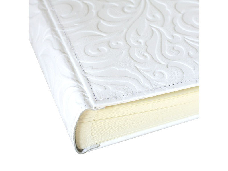 White Leather Granada Photo Album