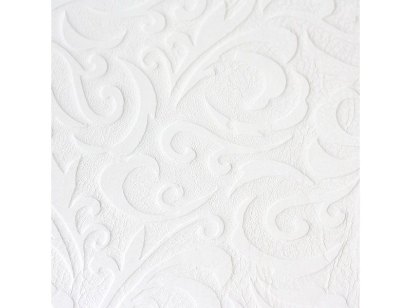 White Leather Granada Guest Book