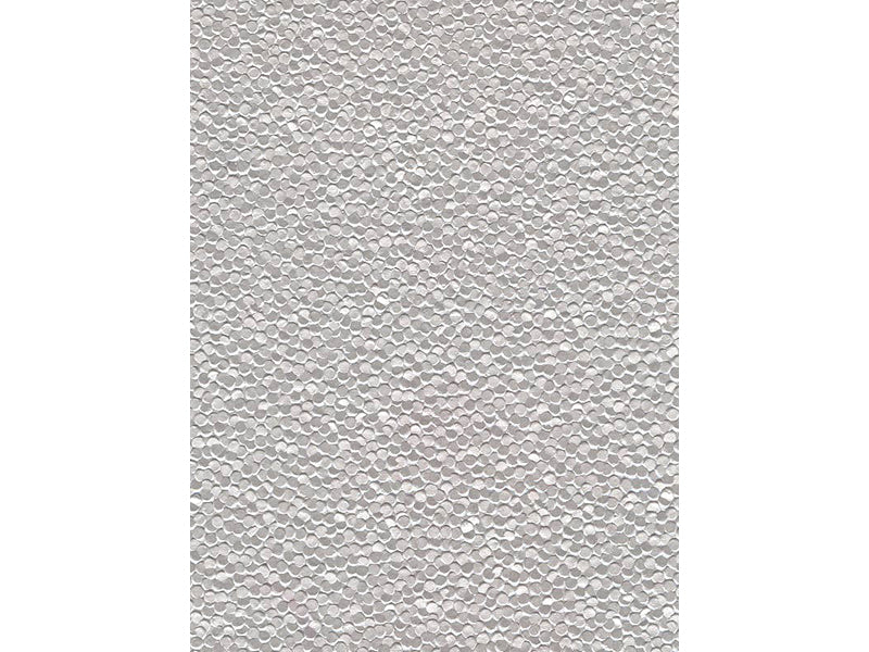 "8-1/2""x11"" Metallic Embossed Pebble Paper : Silver"