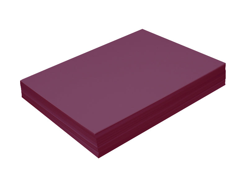 "100 Pack - A7 Panel Card (5""x7""): Metallic Violet (Ruby)"
