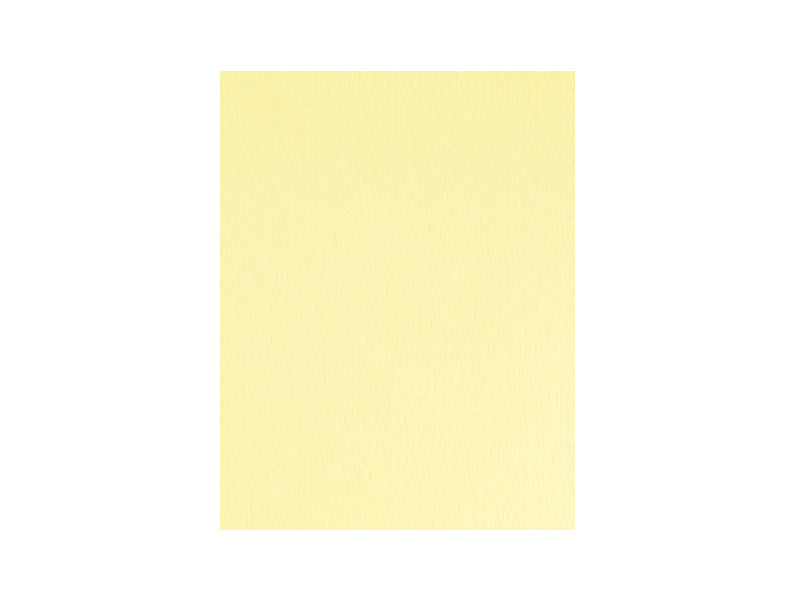"70 Pack - Matte Textweight 8.5"" x 11"" Sheets 70lb: Yellow Sorbet"