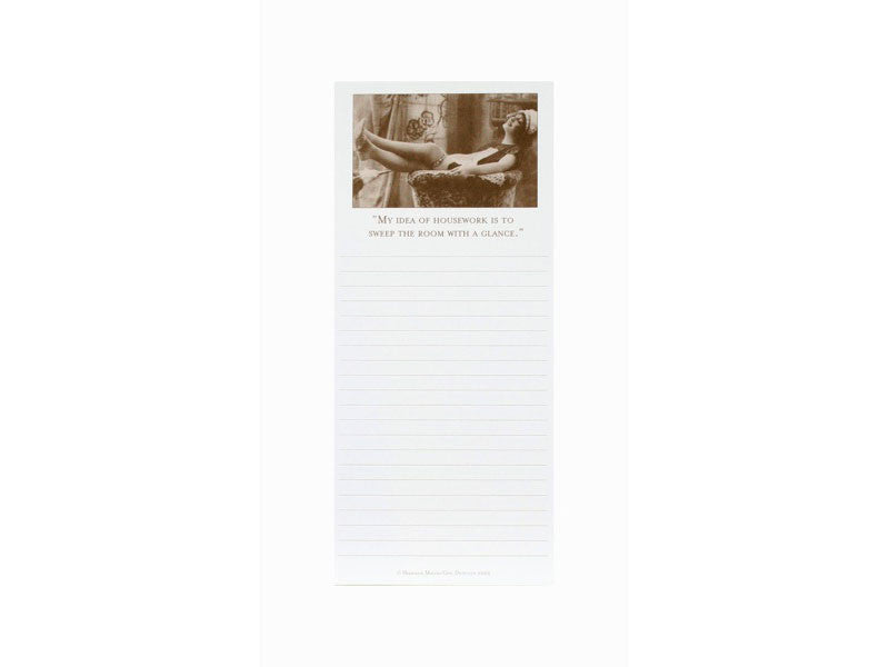 'My Idea of Housework...' Magnetic Notepad