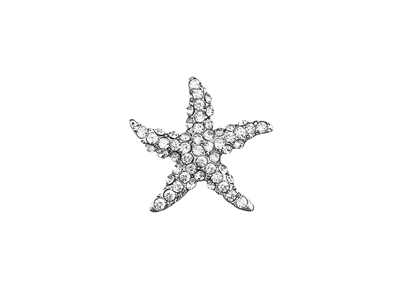22MM STARFISH BUCKLE : SILVER