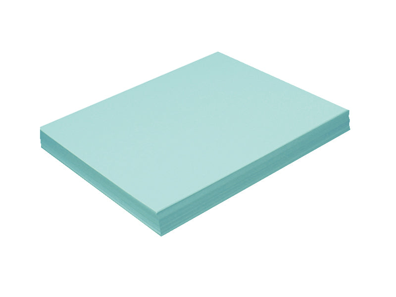 "70 Pack - Metallic Cardstock 8"" x 7"" Sheets 105lb: Metallic Tiffany Blue"