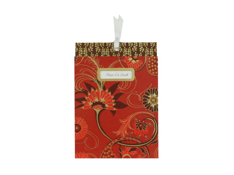 Paisley Swirl Sleeved Holiday Cards