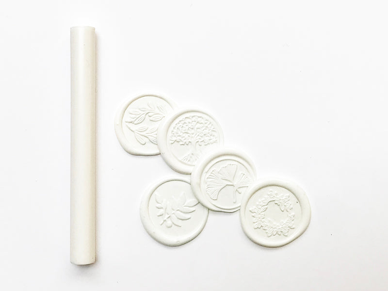 Flexible Glue Gun Sealing Wax - Warm White