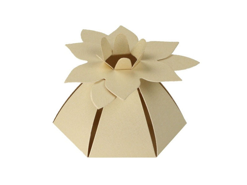 FLOWER FAVOR BOX