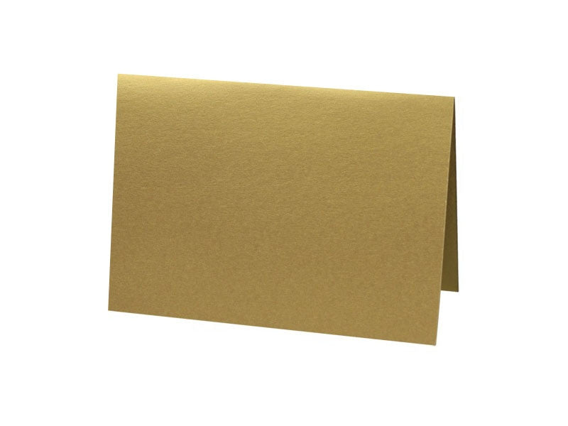 A6 METALLIC FOLDED CARD