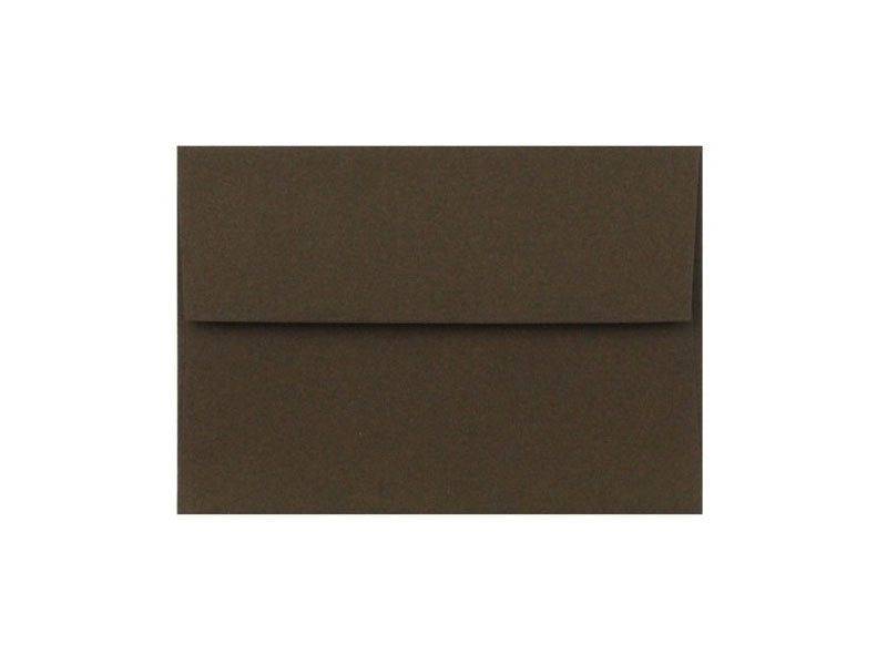 100 PACK - 4-BAR MATTE ENVELOPE: CHOCOLATE