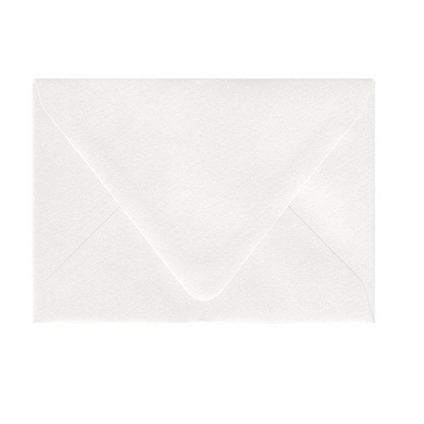 4bar Matte Premium White Euro Flap Envelope
