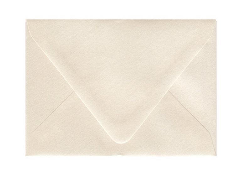 4bar Metallic Opal Euro Flap Envelope