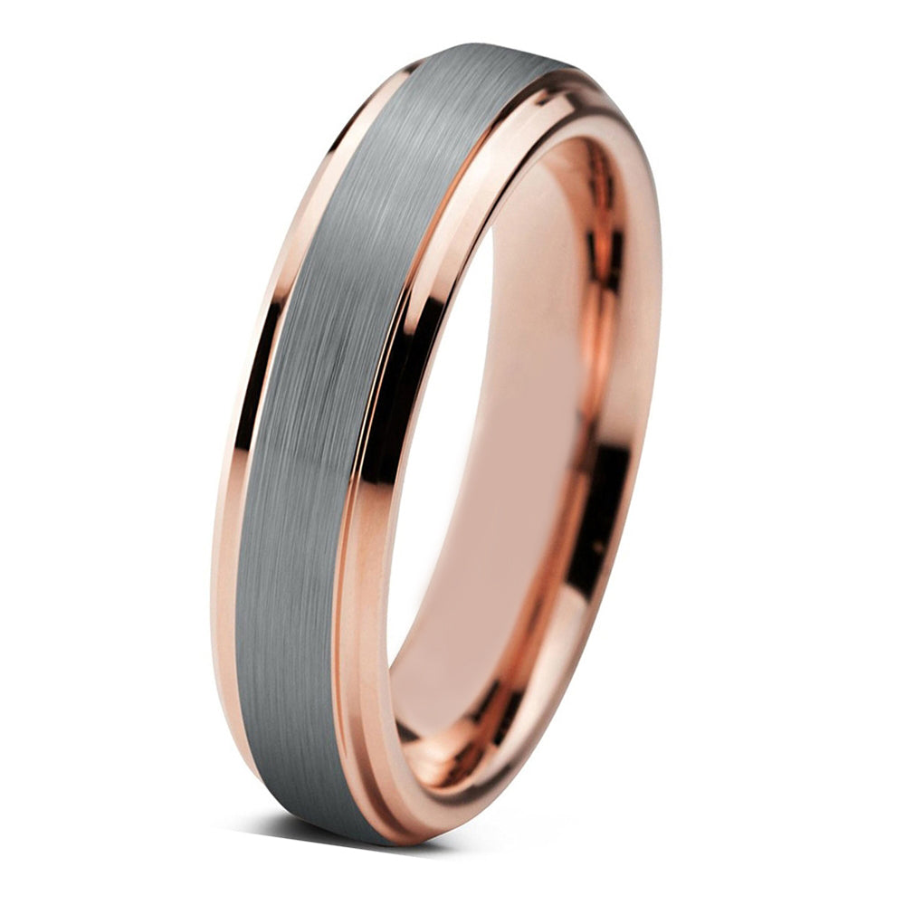 wedding mens men bands gold s in white band