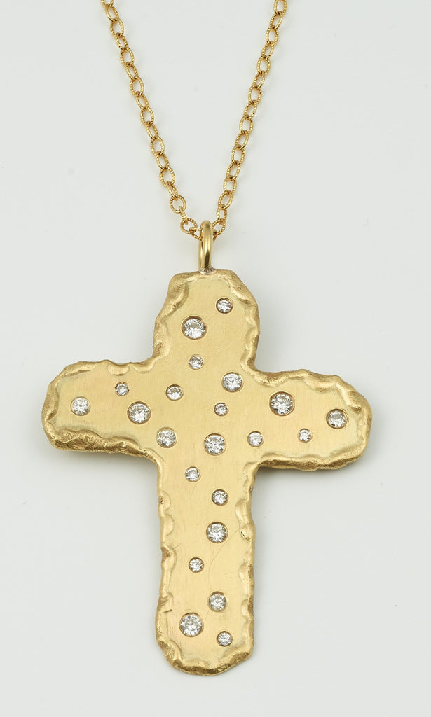 chains necklace cross diamond high fashion