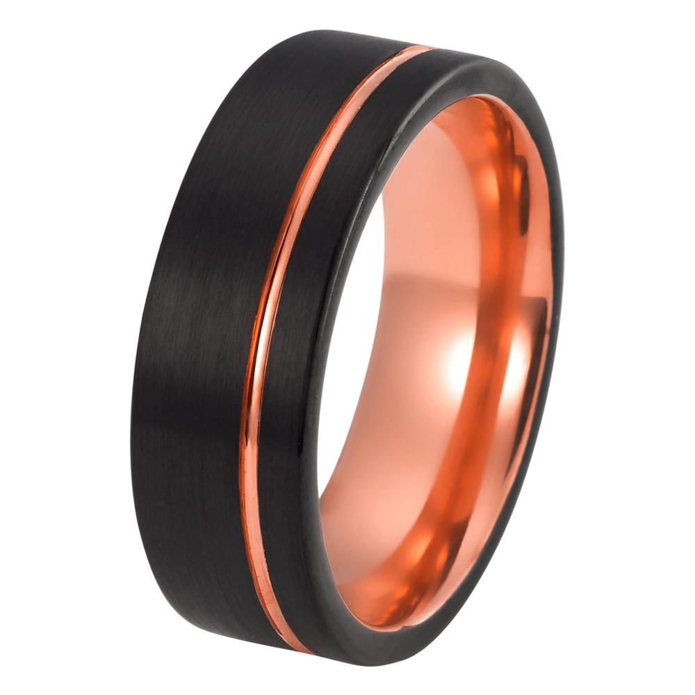 gold wedding his vidar products hers bands boutique matching black and band