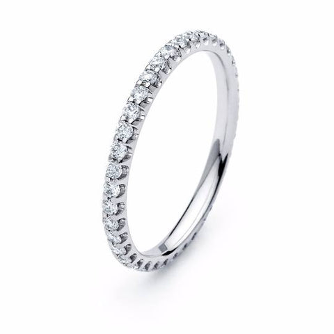 Diamond Eternity Ring - TungstenWeddingBands