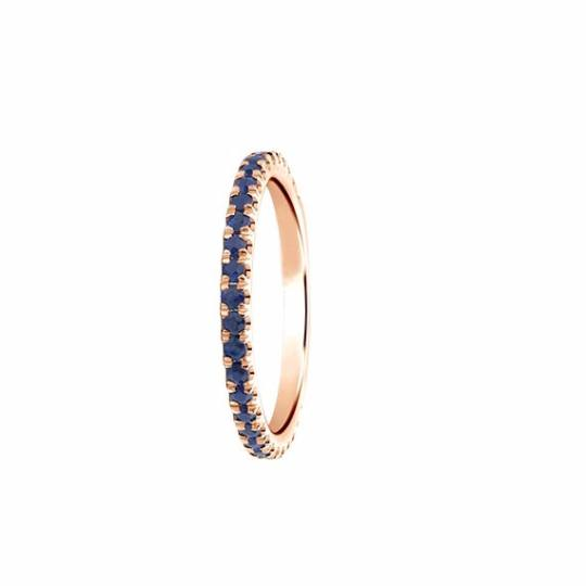 Sapphire Eternity Band - TungstenWeddingBands