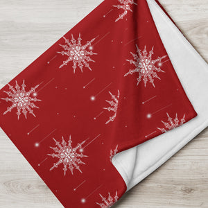 Throw Blanket, Christmas Gift, Christmas Bedding