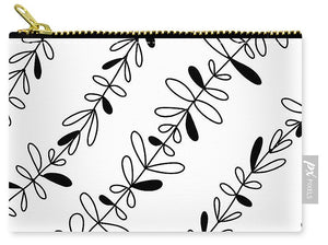 Black and white vine - Carry-All Pouch