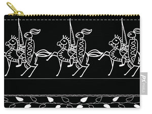 Nights On A Horse - Carry-All Pouch