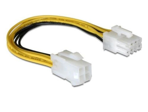 8 pin EPS M > 4 pin ATX P4 F 15 cm power cable for additional power for MB / CPU - Optiwire.ie