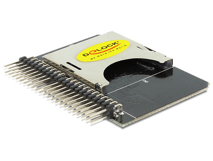 Delock Converter IDE 44 pin > SD / SDHC Card Hot Swap PIO, Multi-Word DMA & UDMA - Optiwire.ie