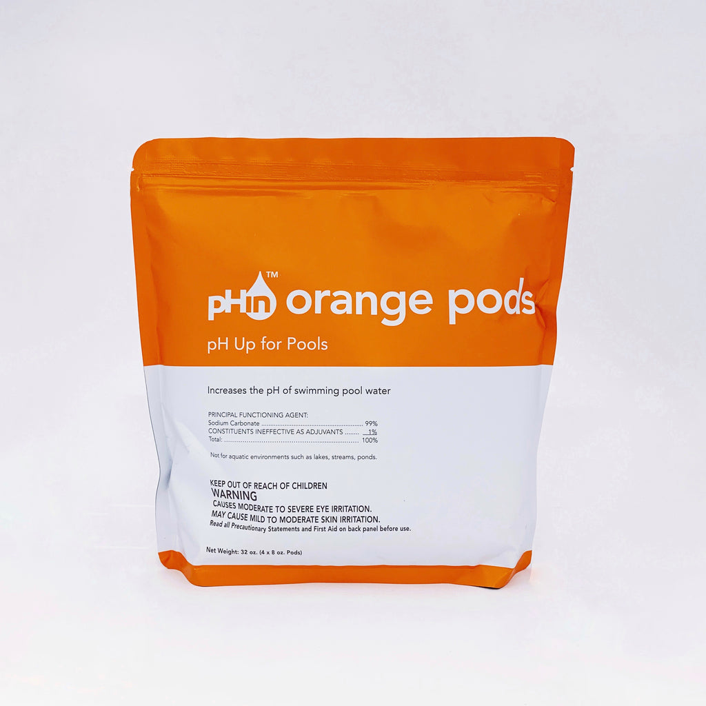 pHin Orange Pods, pH Up for Pools