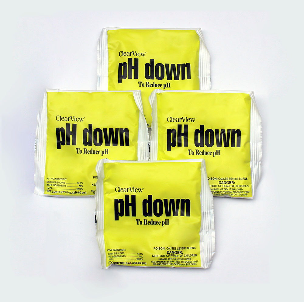 pHin Yellow pH Down Pouch 4pk