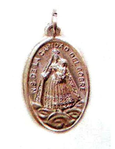 Caridad Cobre Oxidized Medal - MADE IN ITALY