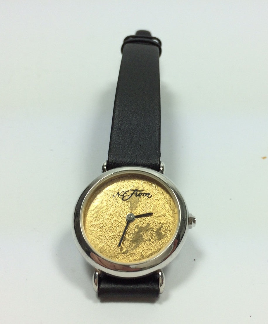 Vintage 1980's danish sterling silver watch