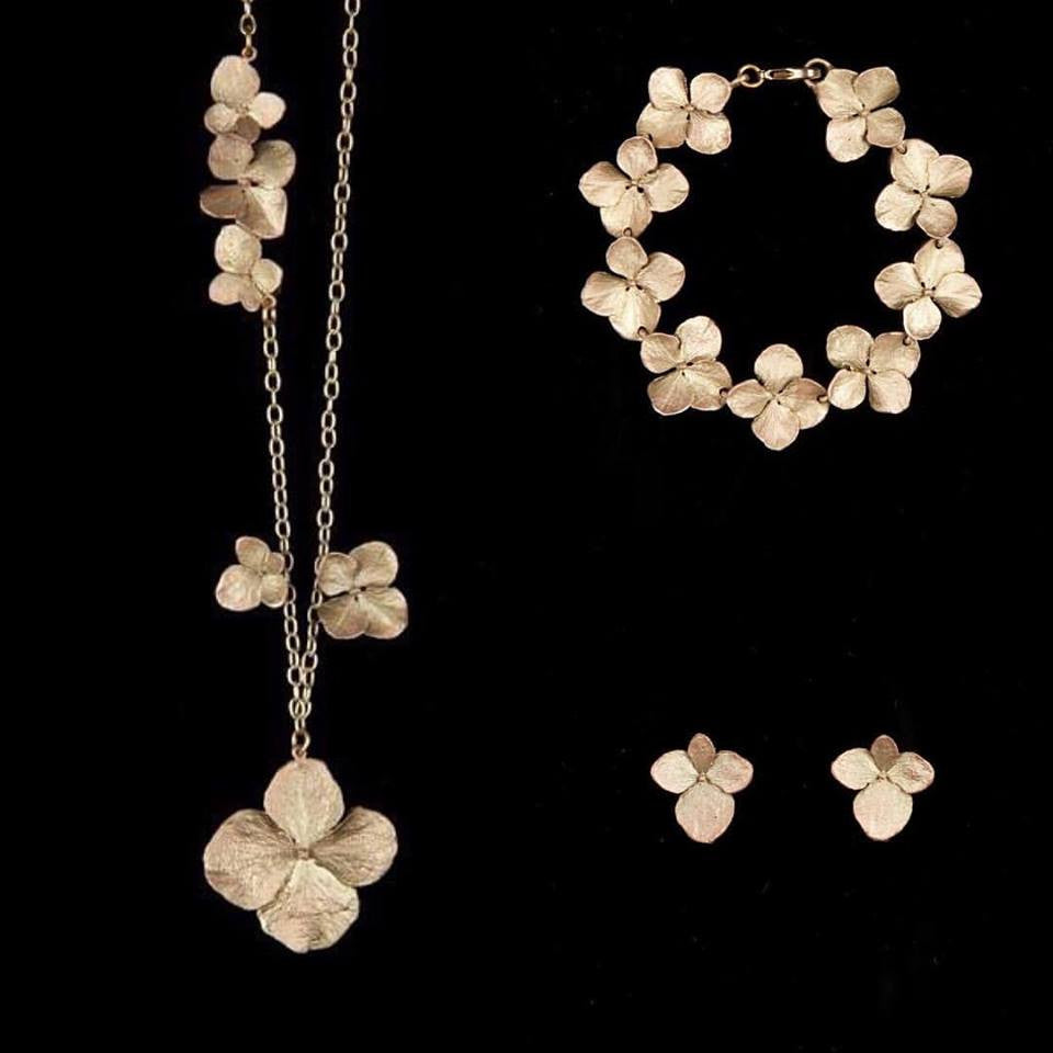 Michael Michaud Hydrangea Jewellery