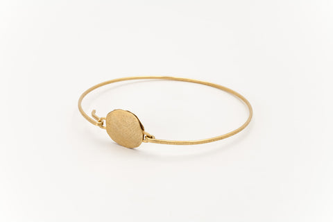 Golden Disc Bracelet: Deco Echo