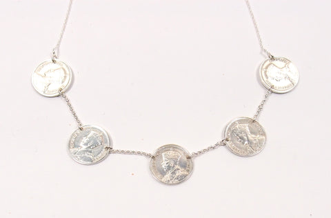 Threepenny Necklace: The Coin Collection