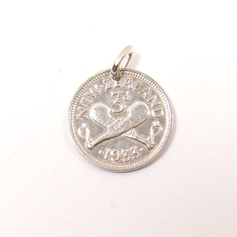 Threepenny Pendant/Charm: The Coin Collection