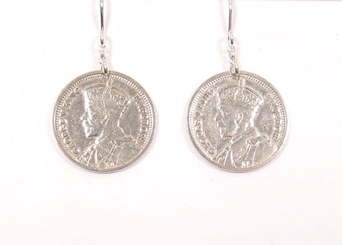 Threepenny Earrings; Short Drops: The Coin Collection