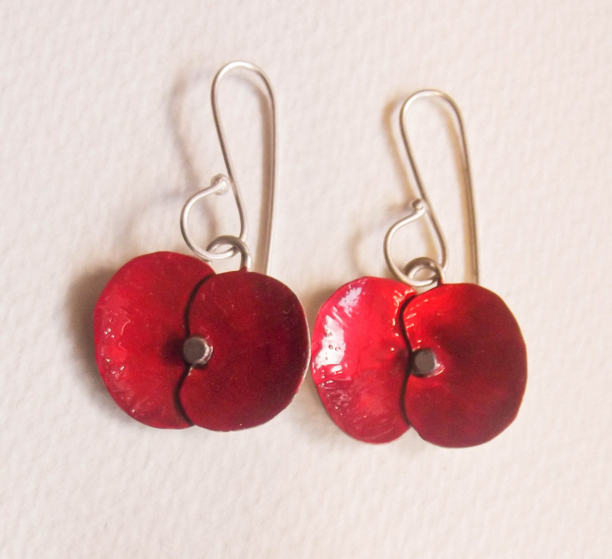 Poppy Earrings: Diane Connal