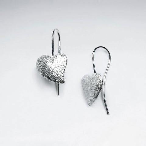 Sterling Silver Katje Drop Earrings: Solveig's Silver