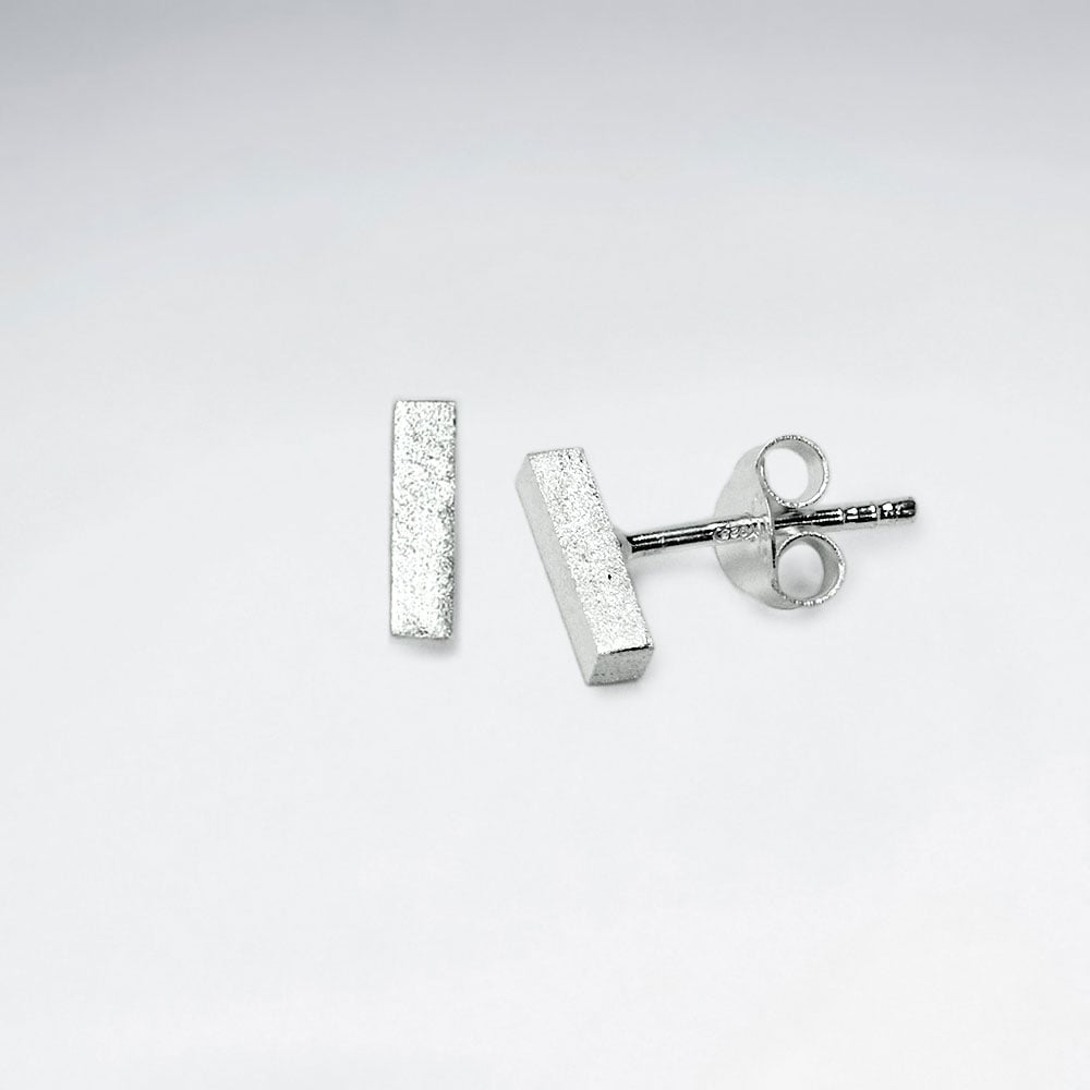 Sterling Silver Frida Ear Studs: Solveig's Silver - Magpie.Kiwi