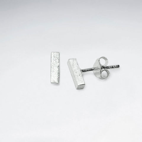 Sterling Silver Frida Ear Studs: Solveig's Silver
