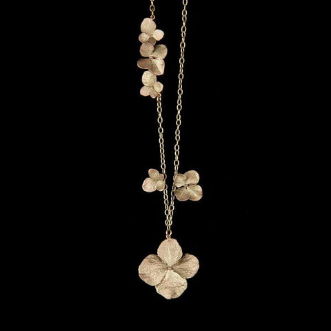 Hydrangea Necklace; Long: Michael Michaud