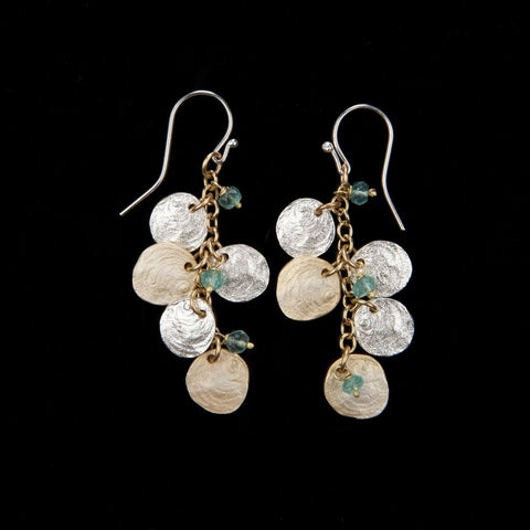 JIngle Shells Cluster Drop Earrings - Michael Michaud
