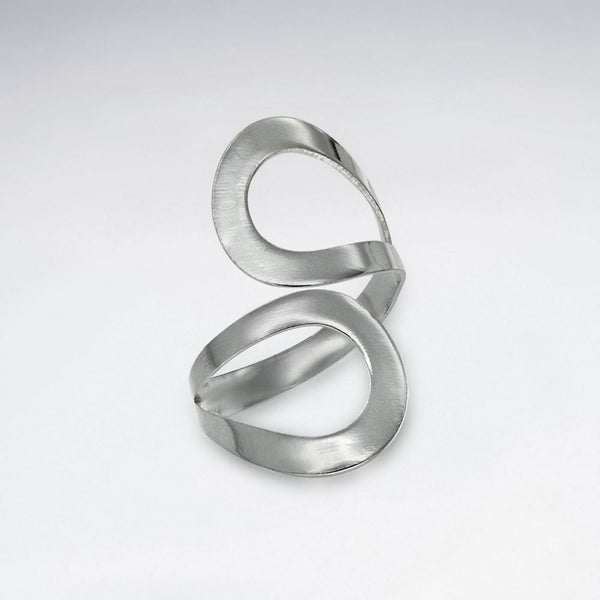 Sterling Silver Runa Ring: Solveig's Silver - Magpie.Kiwi