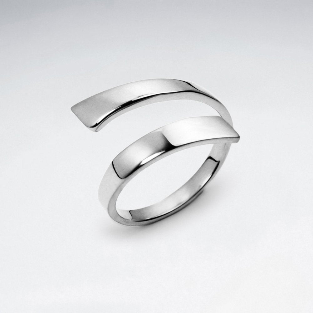 Sterling Silver Elin Ring: Solveig's Silver