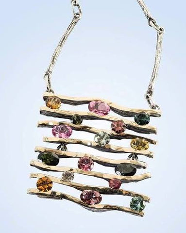 Tourmaline Necklace: Gabriela Styliano