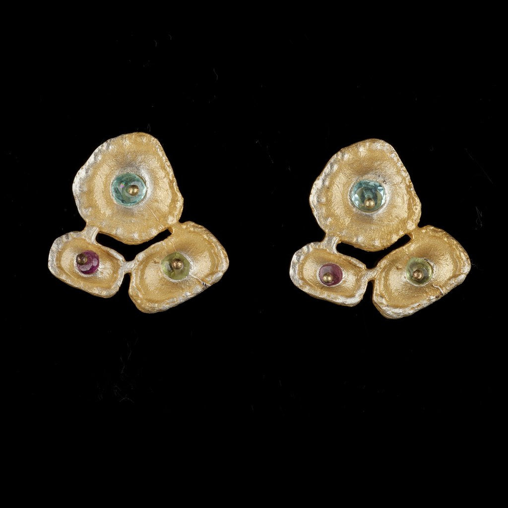 Sea Urchin Ear Studs: Michael Michaud - Magpie.Kiwi